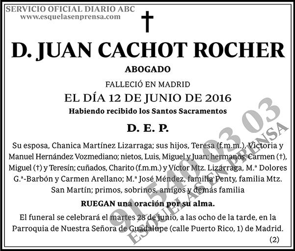 Juan Cachot Rocher